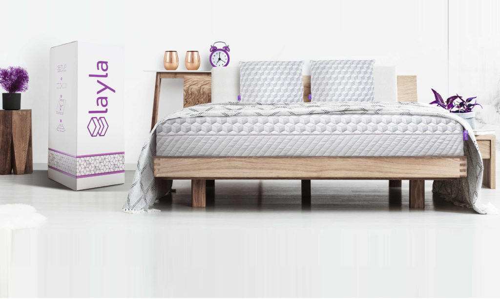 Copper Infused Memory Foam Mattress Layla Sleep